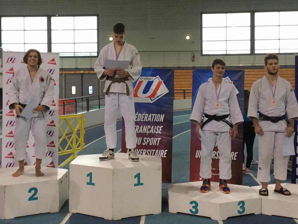 cannes mougins judo championnat france universitaire 2eme div