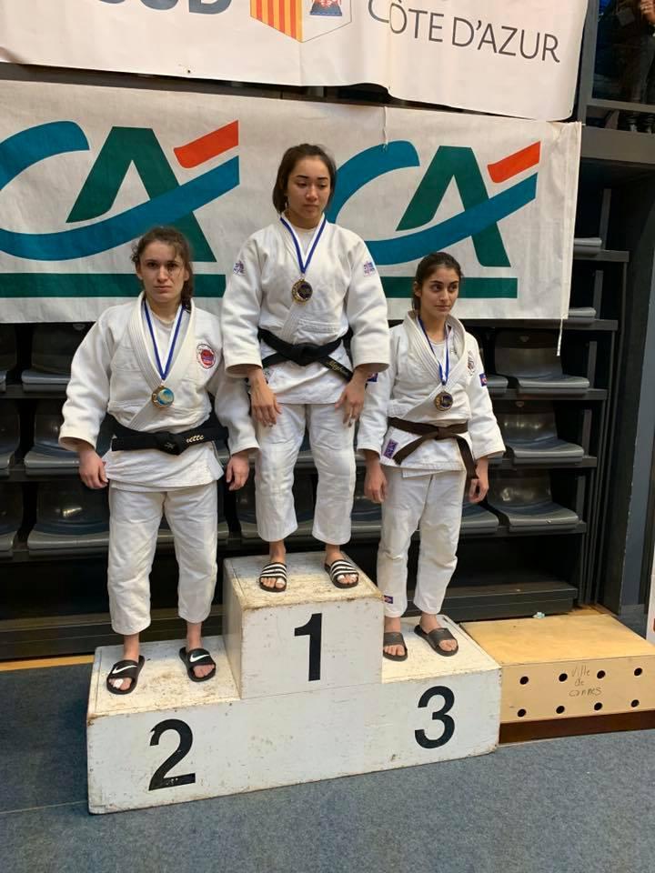 cannes mougins judo championnat regional junior