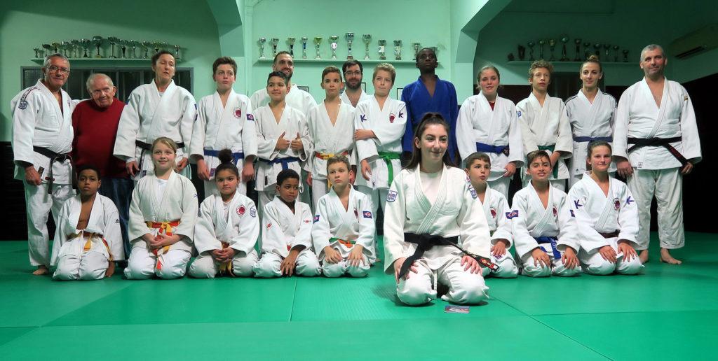 cannes mougins judo Tifanie GHIRINGHELLI nouvelle ceinture noire