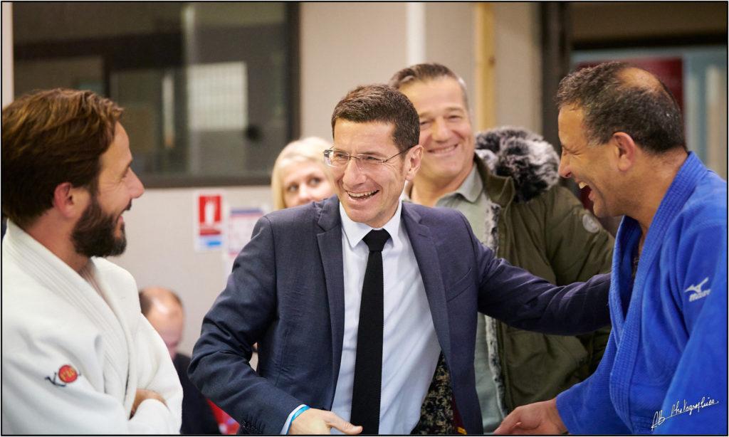 cannes mougins judo visite du maire david lisnard